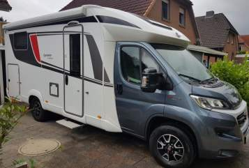 Hire a motorhome in Tostedt from private owners  Bürstner Reisekoffer