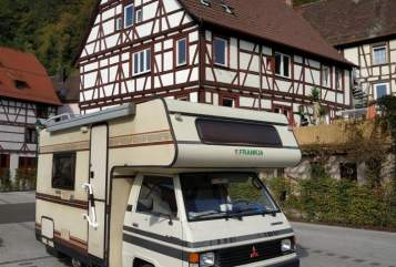 Hire a motorhome in Dortmund from private owners| Mitsubishi L300 - Oldtimer