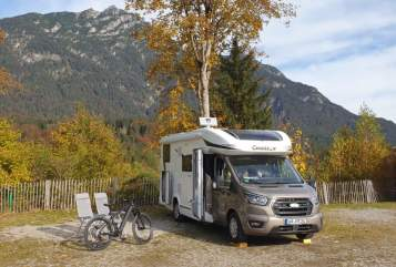 Hire a motorhome in Tönisvorst from private owners  Chausson  Greta
