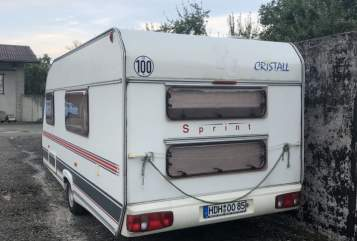 Hire a motorhome in Heidenheim an der Brenz from private owners  Cristall Bohni