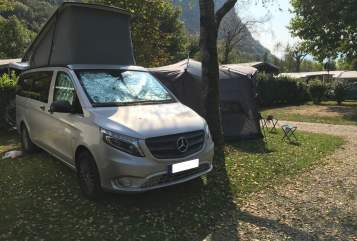 Hire a motorhome in Stuttgart from private owners| Mercedes Marco Polo Schaluppe