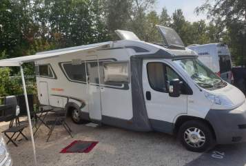 Hire a motorhome in Roth from private owners  Fiat Weißes