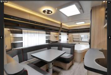 Hire a motorhome in Stuhr from private owners| Hobby Dicke Berta