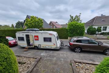 Hire a motorhome in Korschenbroich from private owners| Knaus Kiki