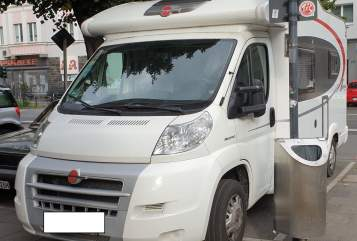 Hire a motorhome in Köln from private owners  Bürstner  Womo