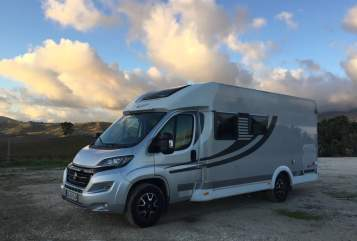 Hire a motorhome in Dachau from private owners| Fiat Ducato Orange Camp OC60 Luigi