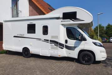 Hire a motorhome in Rietberg from private owners| XGO Zwanz