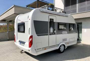Hire a motorhome in Beilstein from private owners  Hobby Spatzennest