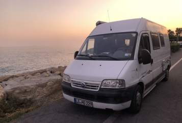 Hire a motorhome in Lüneburg from private owners| Fiat Ducato Kastenwagen Surulunder