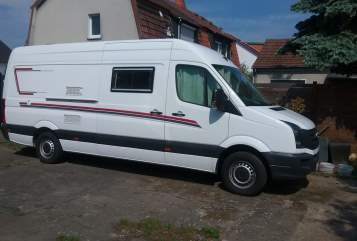 Hire a motorhome in Fulda from private owners| VW VW Crafter