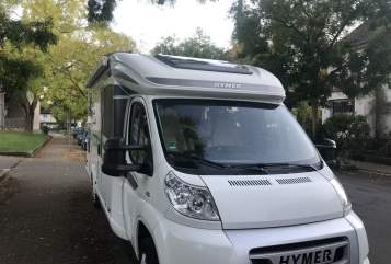 Hire a motorhome in Ladenburg from private owners| Hymer Snoopy