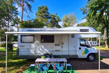 Hire a motorhome in Haan from private owners| Fiat Ducato Manfred