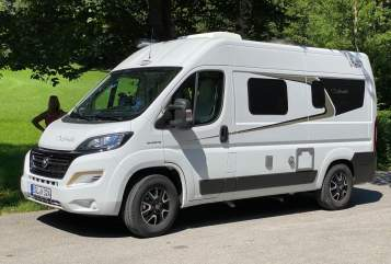 Hire a motorhome in Freilassing from private owners| Fiat Ducato Carado 2020