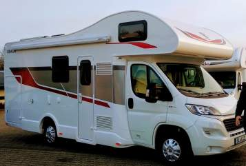 Hire a motorhome in Beckum from private owners  Rimor Cookie