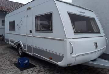 Hire a motorhome in Augsburg from private owners| tabbert maxi