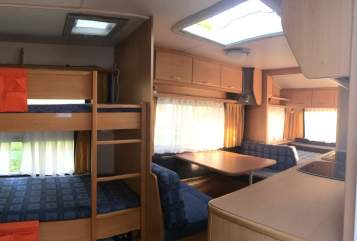 Hire a motorhome in Haldenwang from private owners| Knaus Family on Tour