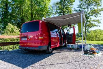 Hire a motorhome in Schlieben from private owners  VW Kalle