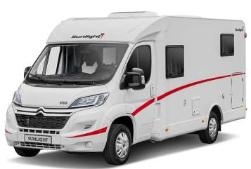 Hire a motorhome in Hagen from private owners| Sunlight Lotty