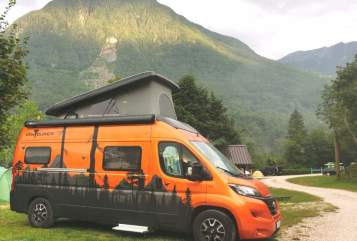 Hire a motorhome in Chemnitz from private owners| Fiat Anton