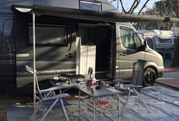 Hire a motorhome in Westerburg from private owners| Mercedes Sprinter  Elvira