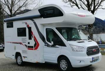 Hire a motorhome in Waakirchen from private owners| Challenger Mimi