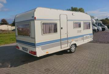 Hire a motorhome in Friedeburg from private owners  Hobby Campi