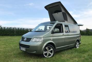 "Hire a motorhome in Stockach from private owners| VW SpaceCamper ""Spacy C"""