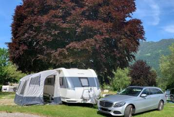 Hire a motorhome in Leingarten from private owners| Hobby Familiencamper