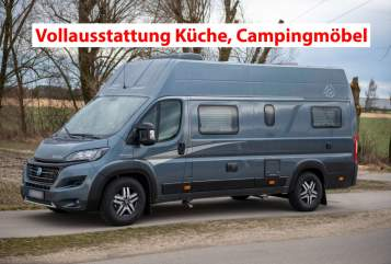 Hire a motorhome in Olching from private owners  Knaus Tatschi1