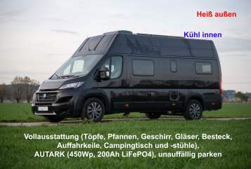 Hire a motorhome in Olching from private owners| Knaus Tatschi631
