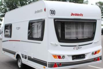 Hire a motorhome in Heddesheim from private owners| Dethleffs Kuschel Go