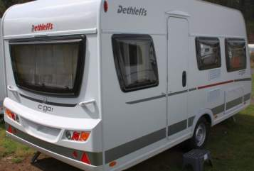 Hire a motorhome in Heddesheim from private owners| Dethleffs Light Go