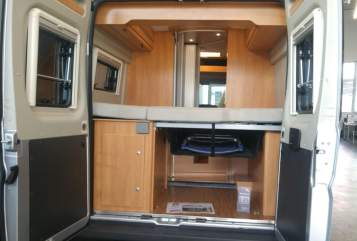 Hire a motorhome in Kaufbeuren from private owners| Pössel SOHAMCamper