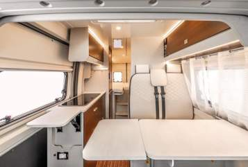 """Hire a motorhome in Dippoldiswalde from private owners  Rimor """"Kleiner"""""""