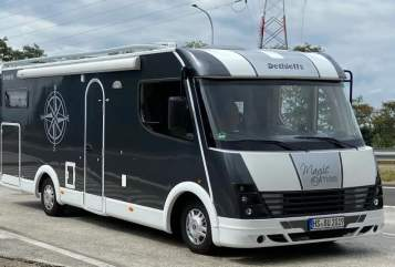 Hire a motorhome in Wassenberg from private owners| Dethleffs Strötti