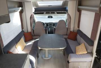 Hire a motorhome in Xanten from private owners| Challenger Drömmeljan