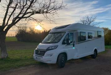 Hire a motorhome in Wilsdruff from private owners| Fiat Carado RoadRunner Rudi