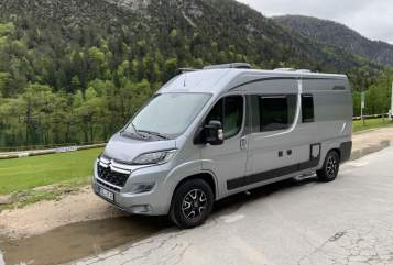 Hire a motorhome in Bad Reichenhall from private owners| Pössl Grey