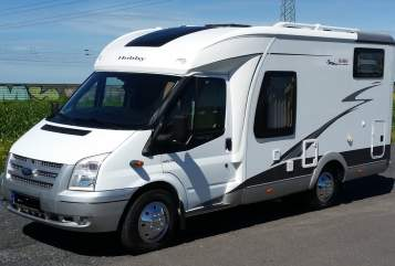 Hire a motorhome in Heikendorf from private owners| Ford Transit Hobby T500 GFSC