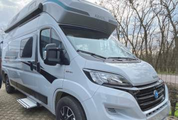 Hire a motorhome in Brieselang from private owners| Knaus Womi