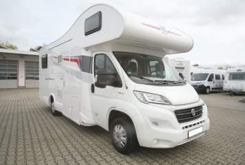 Hire a motorhome in Bargfeld-Stegen from private owners| Rimor  Barnie
