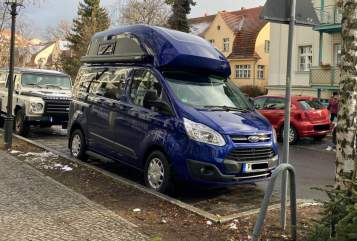 Hire a motorhome in Potsdam from private owners| Ford Pix the Nugget
