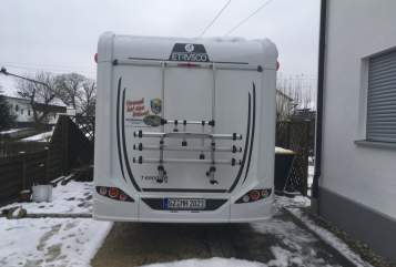 Hire a motorhome in Landensberg from private owners  Etrvsco Paulchen