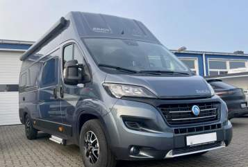 Hire a motorhome in Schafflund from private owners  Knaus  Knausi