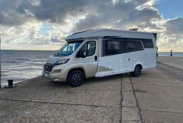Hire a motorhome in Kiel from private owners| Hobby Odin