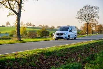 Hire a motorhome in Dresden from private owners| Mercedes Benz  NOVA-Camper