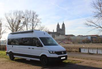 Hire a motorhome in Magdeburg from private owners| Volkswagen Sunny BJ2021
