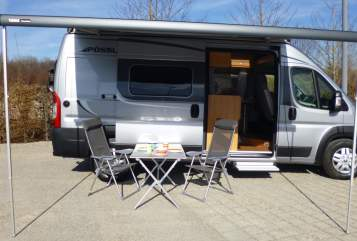 Hire a motorhome in München from private owners| Pössl Luki