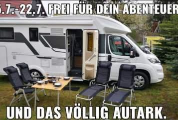 Hire a motorhome in Erfurt from private owners  Adria *URANUS*-AUTARK