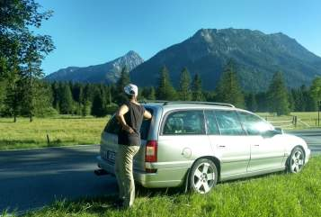 Hire a motorhome in Mainz from private owners| OPEL NaturRocker